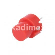 Бутон K B19 35V/0.1A червен