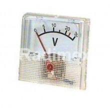 Аналогов панелен волтметър R061, 0-30 V/DC