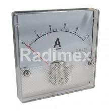 Аналогов панелен амперметър R052, 0-10 A/DC